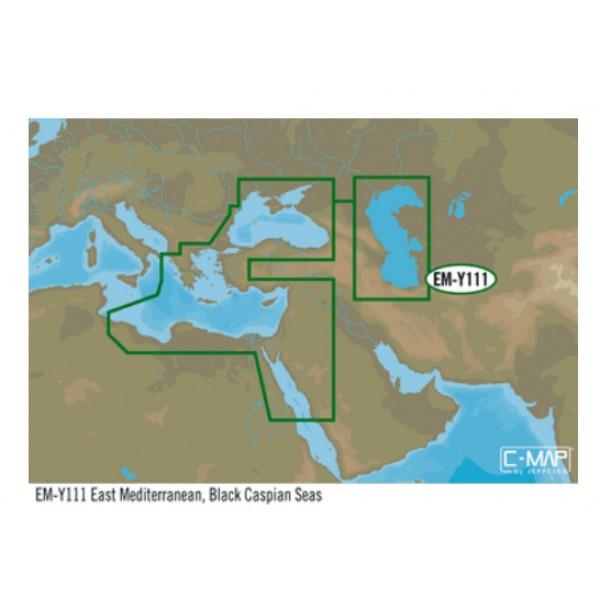 C-MAP MAX-N+ W:E. AEGEAN SEA & BLACK SEA EM-M128.48